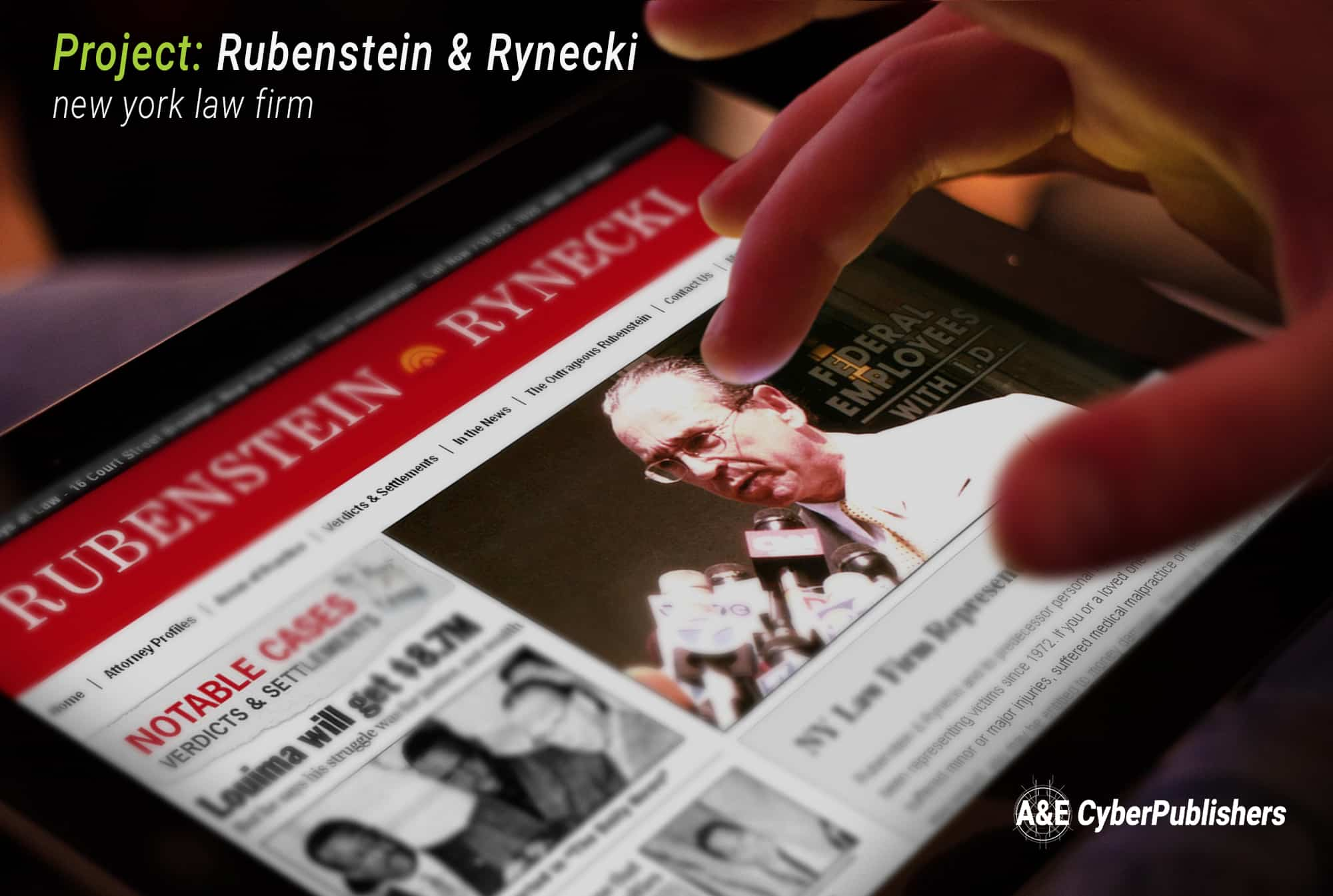 Rubenstein & Rynecki Website Design