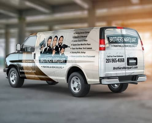 Brothers Marquart Van Wrap Design